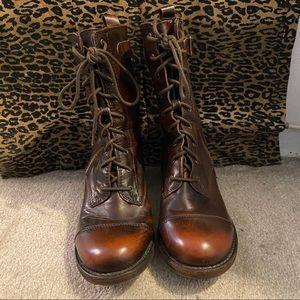 Max Rocket Dog Brown Explorer Lace-Up Boots
